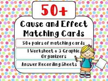 Cause and Effect Matching Cards