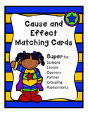 Cause and Effect Matching Cards 3.RI.8