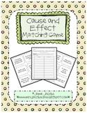 Cause and Effect - Matching Game