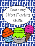 Cause and Effect Matching Game