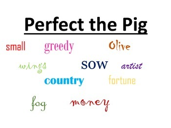 Perfect the Pig Mini Lesson Cause and Effect