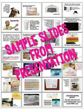 Cause and Effect Nonfiction Activity: Read Those Labels