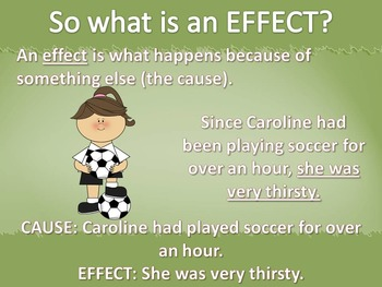 Cause and Effect Nonfiction Text Common Core Powerpoint