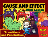 Cause and Effect Nonfiction Text Structure PPT Mini-Lesson