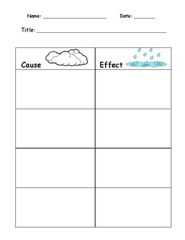 Cause and Effect Packet