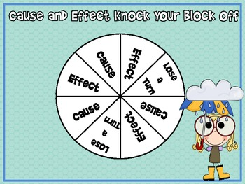 Cause and Effect Partner Game....FREEBIE!