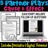 Cause and Effect Partner Plays (grades 4 and 5)