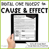Cause and Effect Passages (Print & Digital)