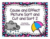 Cause and Effect Picture Cut and Sort 2