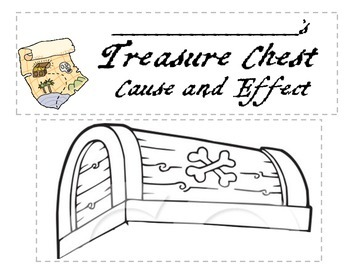 Cause and Effect Pirate Treasure Chest