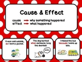 Cause and Effect Poster / Chart Set