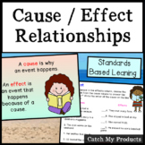 Cause and Effect Passages 3rd Grade