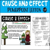 Cause and Effect PowerPoint Activity and Booklet