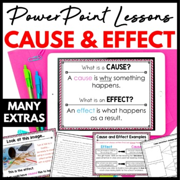 Cause and Effect PowerPoint Minilesson