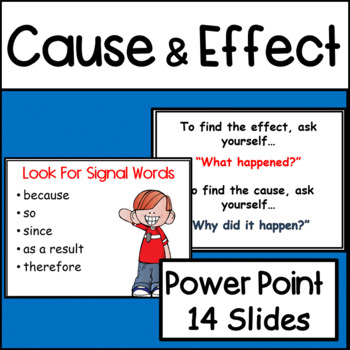 Cause and Effect PowerPoint Presentation