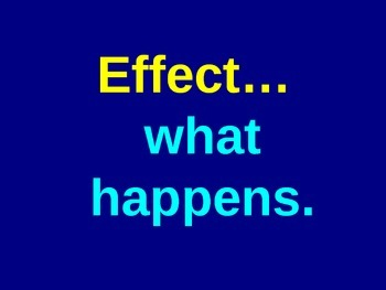 Cause and Effect Powerpoint Learning Activity