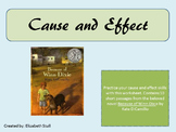 Cause and Effect Practice with Because of Winn-Dixie