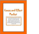 Cause and Effect Printables!