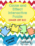 Cause and Effect Puzzle ~INTERACTIVE GOOGLE CLASSROOM~ Blended Learning