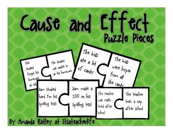 Cause and Effect | Puzzle Pieces