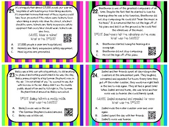 Cause and Effect Task Cards QR Code, Anchor Chart, Game Board