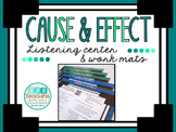 Cause and Effect- QR Listening Center and Work Mats