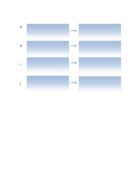 Cause and Effect QR code worksheet