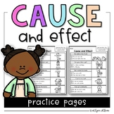 Cause and Effect - Reading Practice Pages
