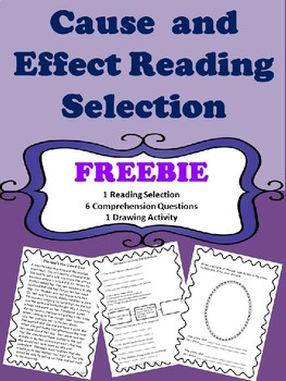 Cause and Effect Reading Selection