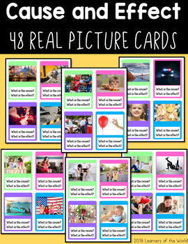 Cause and Effect Real Image Cards