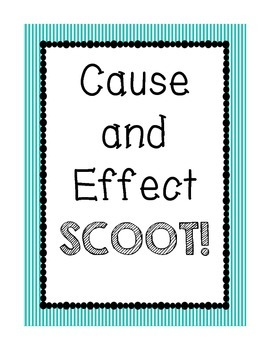 Cause and Effect SCOOT!
