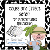 Cause and Effect Matching Cards, Task Cards, and Boom Card