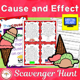 Cause and Effect Scavenger Hunt + Free BOOM Cards