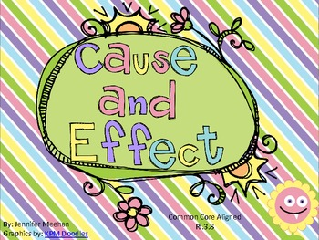 Cause and Effect Scoot-Easter Monster Theme-Common Core Aligned