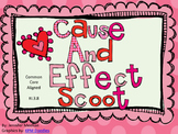 Cause and Effect Scoot-Valentine's Theme-Common Core Aligned