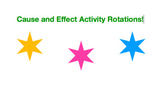 Cause and Effect Sentences Rotations Activity