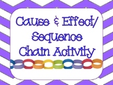 Cause and Effect/Sequence Chain Activity