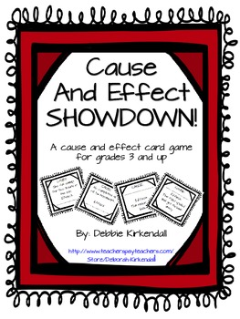 Cause and Effect Showdown Card Game