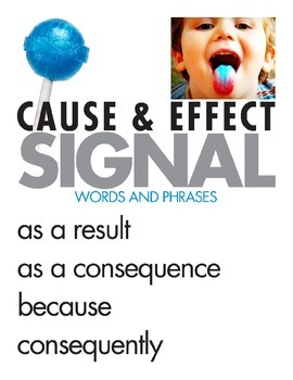 Cause and Effect Signal Words & Phrases
