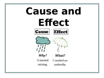 Cause and Effect Simple PowerPoint