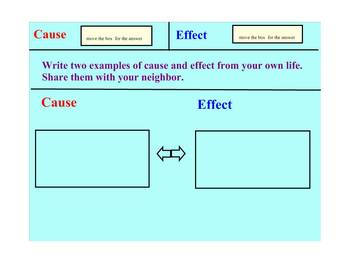 Cause and Effect Smartboard
