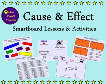 Cause and Effect Smartboard Lessons and Activities