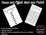 Cause and Effect Sort