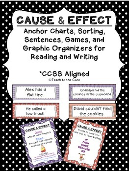 Cause and Effect: Sorting, Games, Worksheets, and More! - K-3rd grade