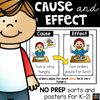 Cause and Effect Sorts Worksheets