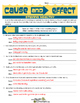 Cause and Effect: Healthy Choices