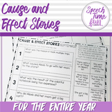 Cause and Effect Stories for the Year