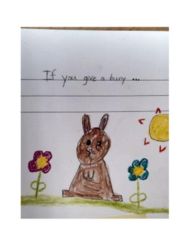 Cause and Effect Story Writing with Template: If You Give A Mouse
