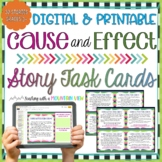Cause and Effect Task Cards   Google Classroom