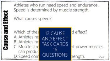 Cause and Effect Task Cards #2